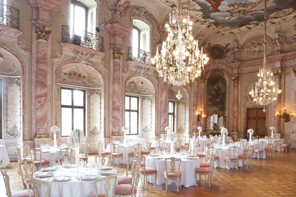 Der Große Festsaal Im Schloß Bückeburg