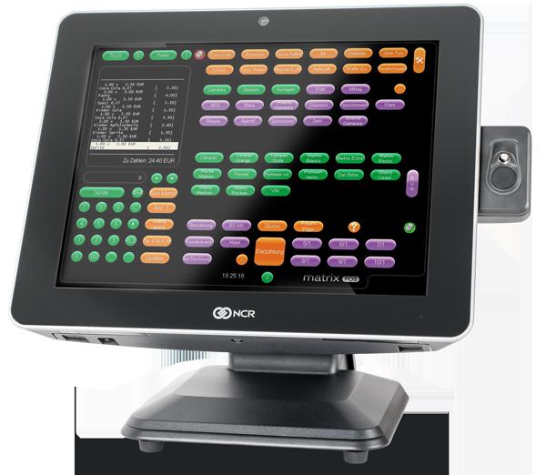 Matrix POS Kassensystem auf einer NCR Columbus 800