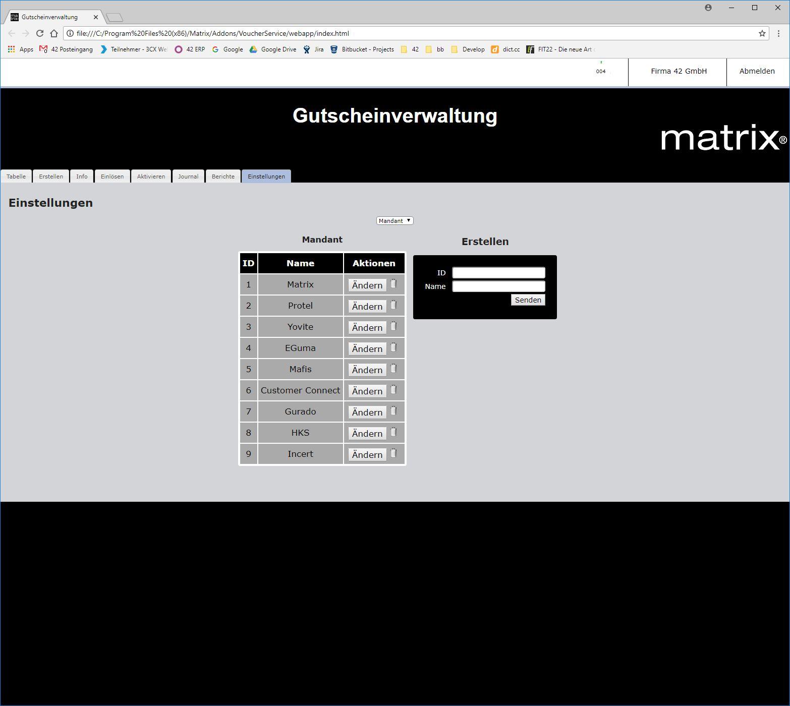 Gutscheinverkauf mit moderner Software - Voucher Mandanten